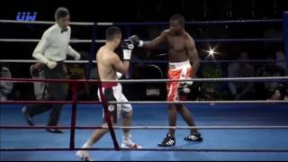 Узбекискый боксёр Наказал за понты! Жесткий НОКАУТ 25 03 2017