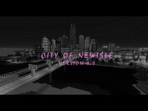 City of Newisle v1 1 | Solo built modern city Minecraft Project