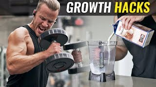 """5 Growth """"HACKS"""" to Build Muscle Faster"""