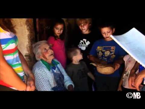 Sara en un vídeo de Miguel J.Berrocal./MJB