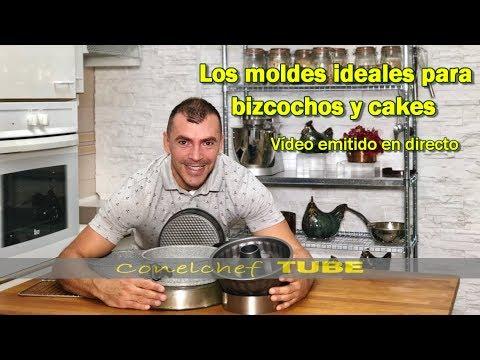 Moldes ideales para bizcochos y cakes | Video en directo