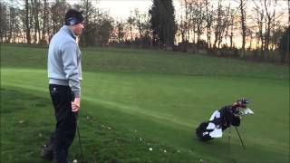 preview picture of video 'Flop Shot Over a Random Bag, Short Game Challenge!'