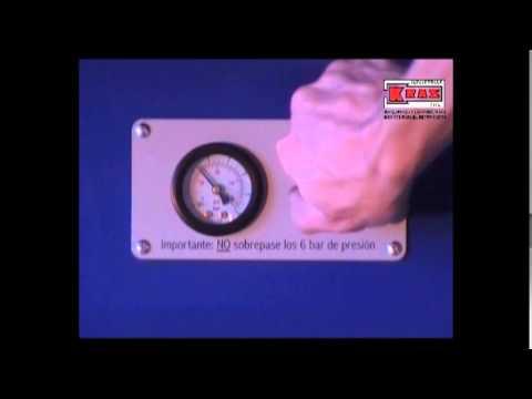 Detector Hidroneumático de fisuras Modelo KR600