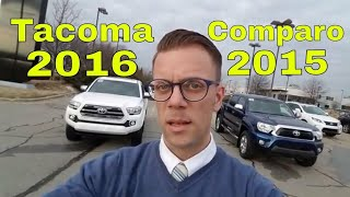 Toyota Tacoma Comparison Which Truck Is Best? 2015 or 2016 Toyota Tacoma?