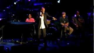 Kirk Franklin Medley-- We Fall Down Donnie McClurkin--King's Men Tour Concord, CA September 2012