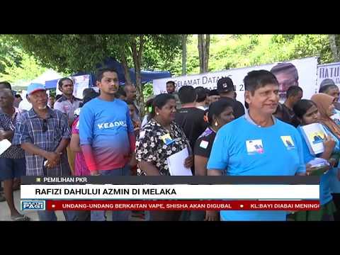 Rafizi Mendahului Azmin Ali Di Melaka