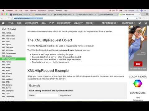 XMLHttpRequest - portablecontacts.net