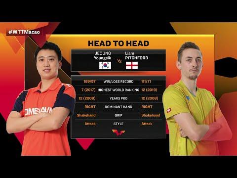 정영식 vs Liam Pitchford | WTT Macao Battle Two FULL MATCH..