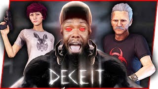 WHO IS INFECTED!? I DON'T KNOW WHO TO TRUST! - Deceit Gameplay