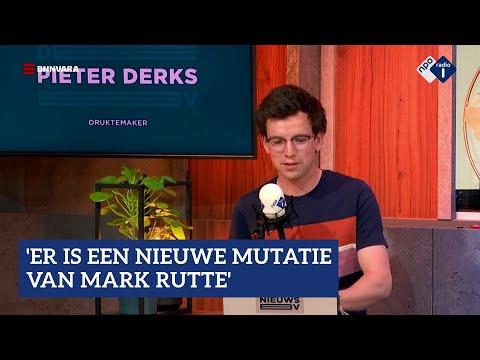 Pieter Derks: 'Er is een nieuwe mutatie van Mark Rutte'