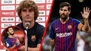 ¡Griezmann le manda indirecta a Messi y habla del vestidor!