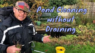 How to clean a pond without draining it - Pond Cleaning Services