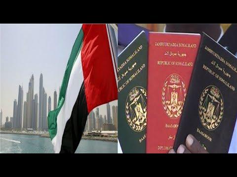 Shacabku Siday U Arkaan Passporka Somaliland Ee Imaaraadku Aqbaley