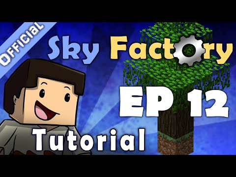 Minecraft Sky Factory Official Tutorial 12 - Automatic Mob Farm