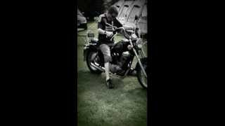 preview picture of video 'Bike riding in Hurley campsite'