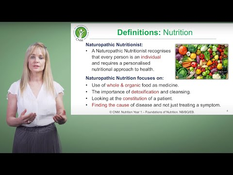 CNM's Accredited Online Nutrition Course
