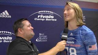 Rivals Camp ATL: Trevor Lawrence interview