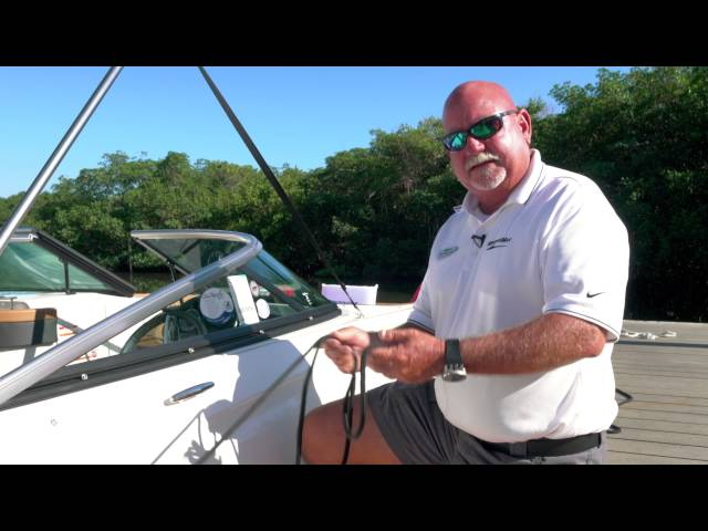 Boating Tips Episode 2: How To Properly Tie Up Dock Lines