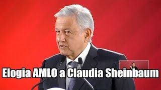 Claudia Sheinbaum se coordina con Del Mazo: AMLO