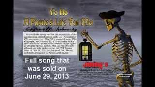 Yo Ho A Pirate's Life For Me