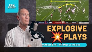 Film Study: big plays in Outback Bowl | Ole Miss def. Indiana