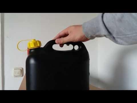 Die Oktanzahl des Benzins 92 und 80