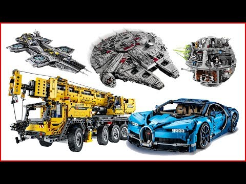 LEGO COMPILATION Best Of All Sets Short Speed Build UNBOXING