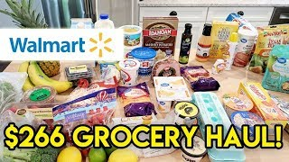 $266 WalMart Grocery Haul + Meal Plan // July 5 2019 // Stocking Up on Essentials!