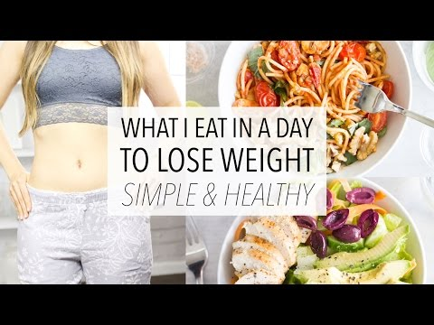 Video What I Eat In A Day To LOSE WEIGHT - Healthy, Easy and Simple! (Day 5)