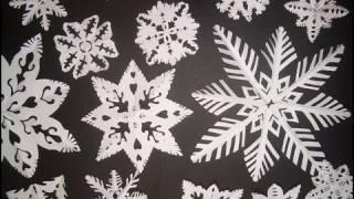 Fiocchi Di Neve Di Carta Facili : Decorazioni di carta paper decorations for christmas creatività
