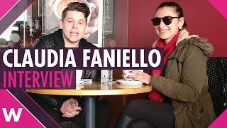 """Claudia Faniello """"Breathlessly"""" - Malta ESC 2017 (INTERVIEW)"""