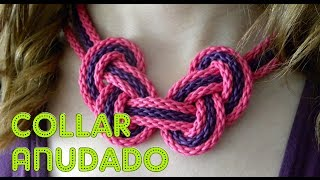 DIY: COMO HACER UN COLLAR DE NUDOS VERANIEGO