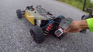 Arrma Typhon 4s Buggy 129.2mph 208kh Kill Mode RC