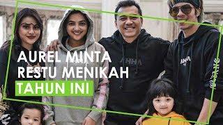 Aurel Minta Restu Anang dan Ashanty untuk Menikah Tahun Ini