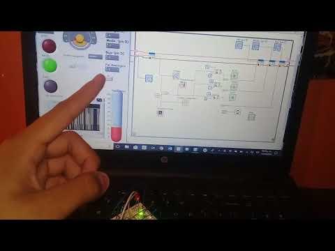 Termometro Ambiental via labview con Arduino