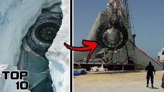 Top 10 Weirdest Things Found Buried In Ice