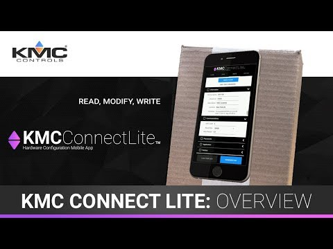 KMC Connect Lite App Overview