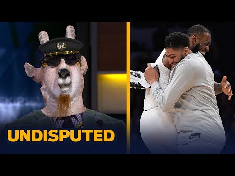 Shannon Sharpe guarantees Lakers will win the title after the Anthony Davis trade   NBA   UNDISPUTED