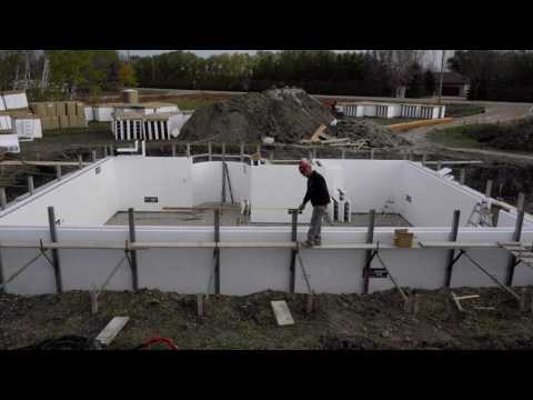 Building your ICF home - Completing Block Placement