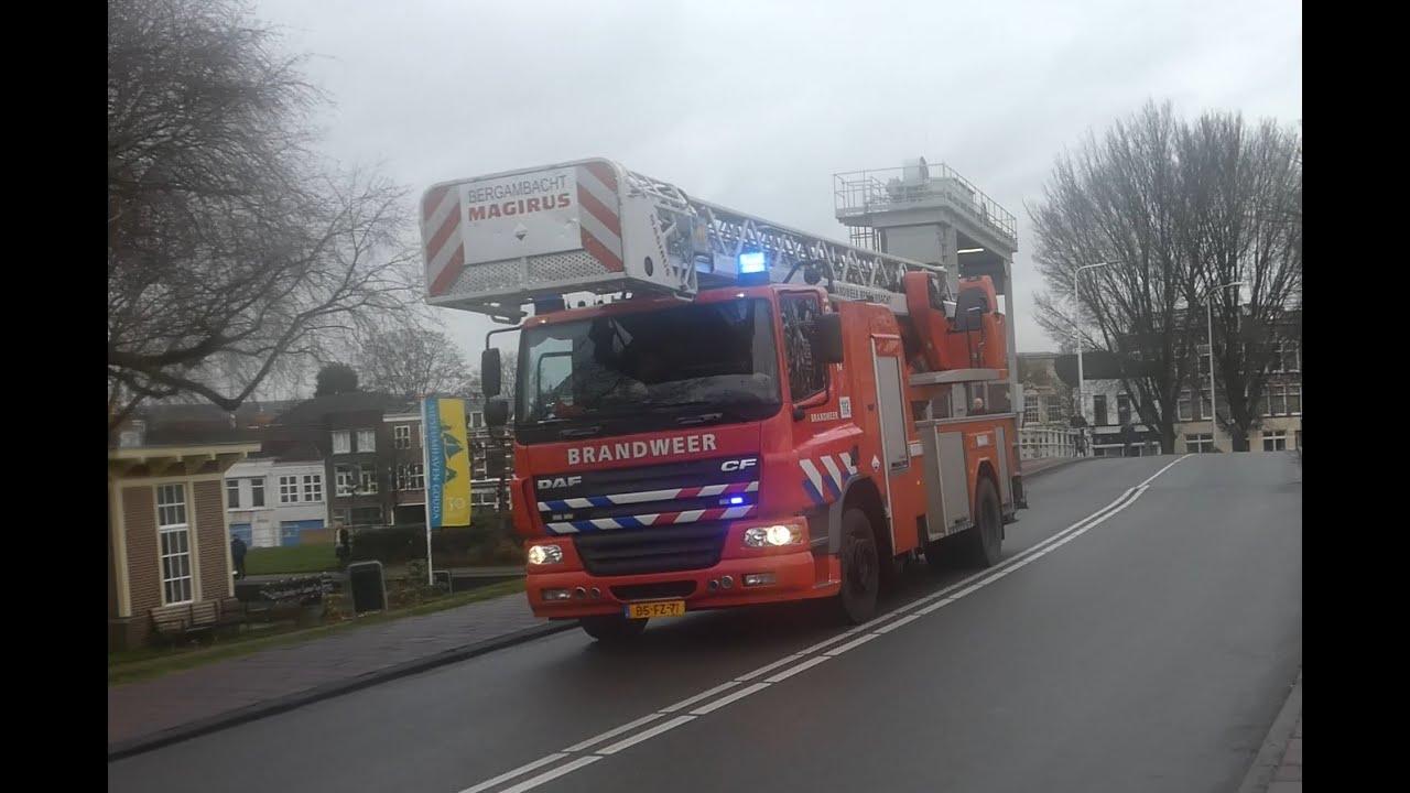 Zeer Grote Brand in Kaarsenfabriek Croda zorgt voor massale inzet hulpdiensten