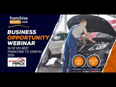 , title : 'Speed Force Franchise Opportunity in India. Best time to start a new business in Service Sector.