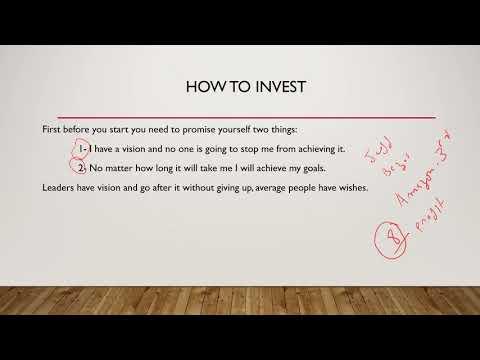 الدرس الرابع: كيفية ايجاد فكرة لانشاء مقاولة