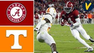 Tennessee Vs #1 Alabama Highlights   Week 8   College Football Highlights