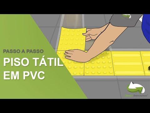 Piso Tátil PVC