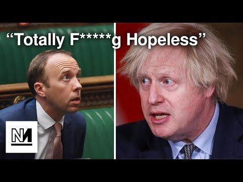 """Johnson: Hancock Is """"Totally F*****g Hopeless"""""""