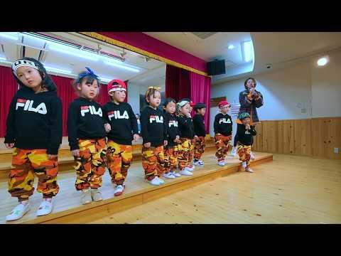 2019.03.23 西伊丹幼稚園ダンス発表会〈SAEPAN class〉