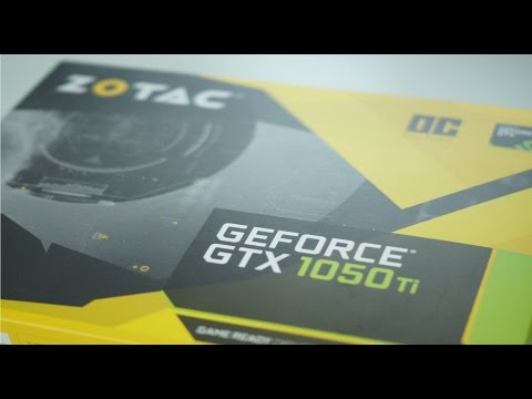 Zotac GTX GeForce 1050 TI Oc! Starke Grafikkarte zum TOP Preis?! Unboxing & Review