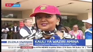 Waziri Amina asema Serikali imejitolea katika spoti kurejea kwenye nyanja za kimataifa