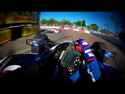 VISOR CAM: Graham Rahal at the 2018 Firestone Grand Prix of St. Petersburg