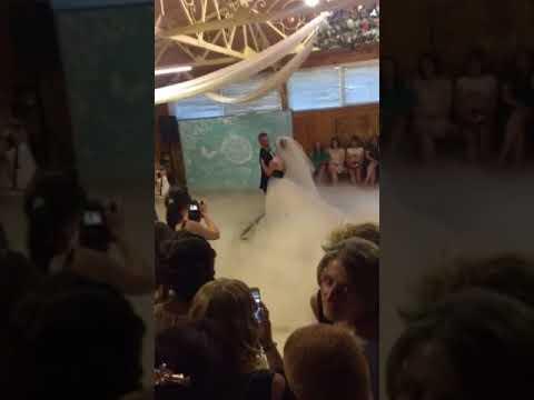 Оформлення весільного танцю спецефектами, відео 25
